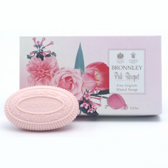Bronnley Pink Bouquet Soap