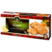 Campbells Ginger And Sicilian Lemon Pure Butter Cookies