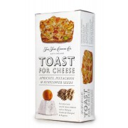 Toast for Cheese with Apricots, Pistachios & Sunflower Seeds