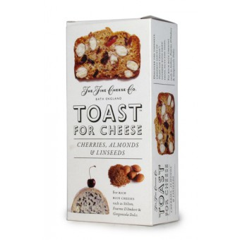 Toast for Cheese with Cherries, Almonds & Linseeds