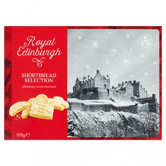 Royal Edinburgh Luxury All Butter Scottish Shortbread Carton