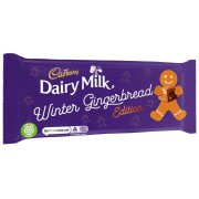 Cadbury Dairy Milk Winter Gingerbread Edition