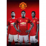Manchester United Official 2021 Calendar
