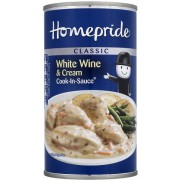 Homepride Classic White Wine & Cream Cook-in-sauce