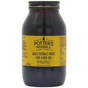 Potters Malt Extract With Cod Liver Oil