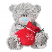 Me to You Tatty Teddy With Red Gift Pouch