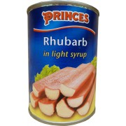 Princes Rhubarb In Light Syrup
