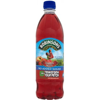 Robinsons Summer Fruits Squash No Added Sugar