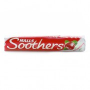 Halls Soothers Strawberry