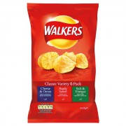 Walkers Classic Variety 6-pack