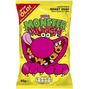 Walkers Monster Munch Roast Beef